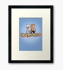Fresh and Frosty Princesses Framed Print