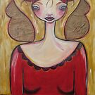 I CREATED MY OWN WINGS by Barbara Cannon Art Studio