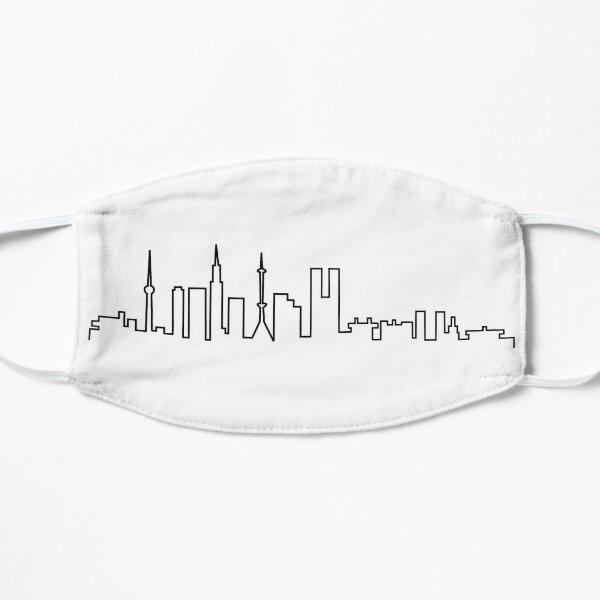 Tokyo, Japan City Skyline Silhouette, Inspired Mask