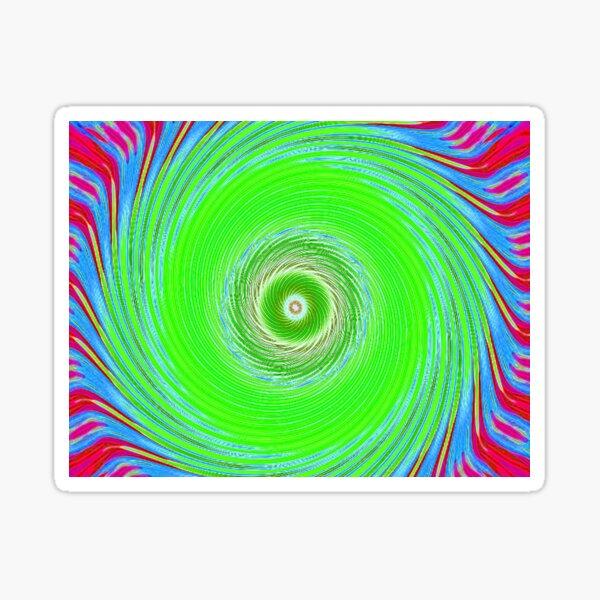 Like a Hurricane Green Sticker
