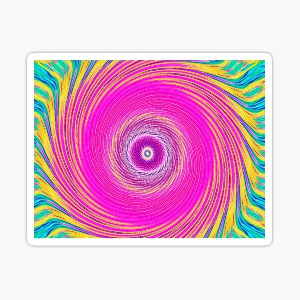 Like a Hurricane Pink Sticker