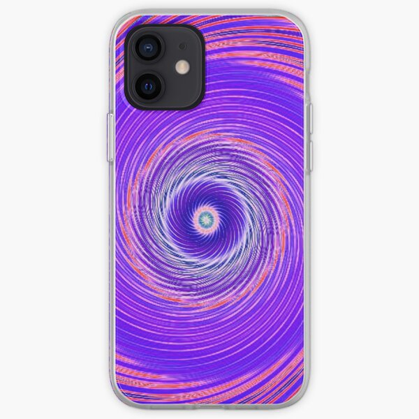Like a Hurricane Purple iPhone Soft Case