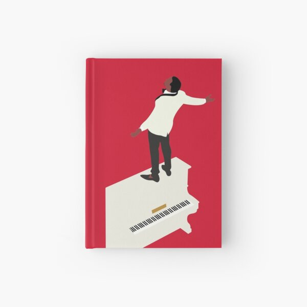 Kanye Runaway Piano Design Hardcover Journal