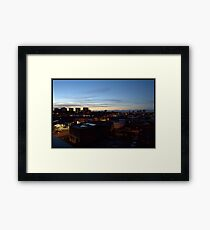 Birmingham Mountains Framed Print