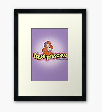 Fresh and Foamy Princess Framed Print