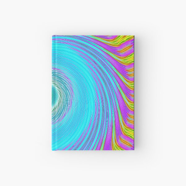 Like a Hurricane Turquoise Hardcover Journal