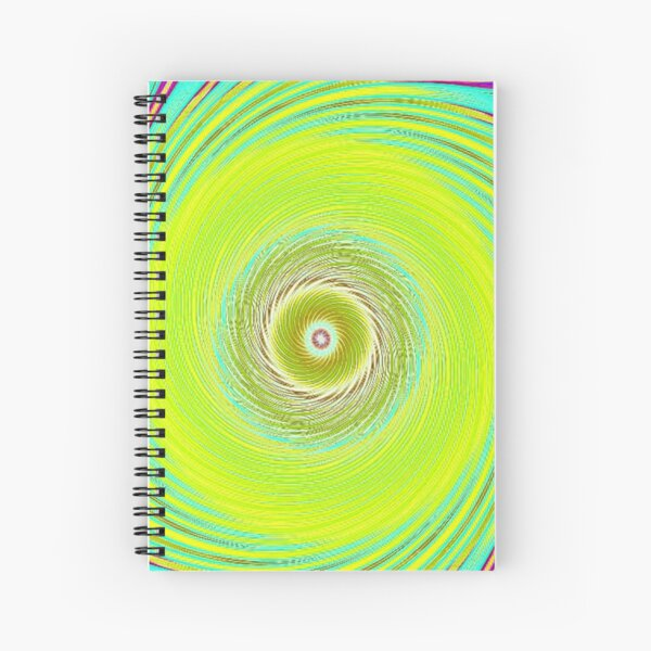 Like a Hurricane Yellow Spiral Notebook