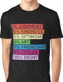 100% BRONY - MLP Graphic T-Shirt