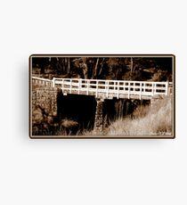 Major Creek Bridge Canvas Print