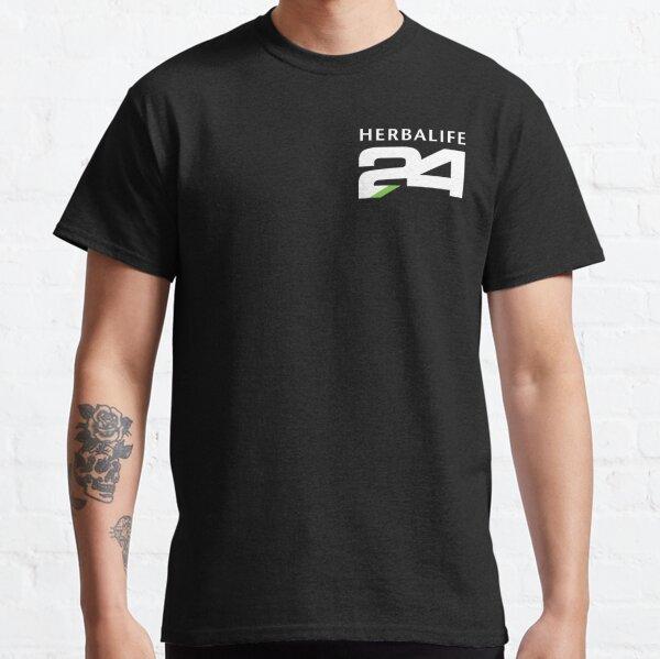Herbalife 24 Blanco Camiseta clásica