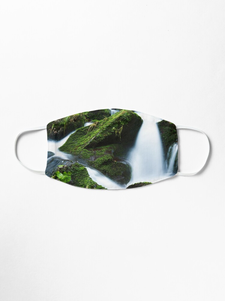 Alternate view of Beautiful waterfall capture photography Mask