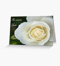 Für meine Liebe ... Greeting Card