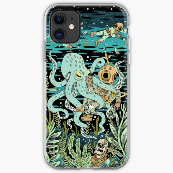 Diver iPhone Soft Case