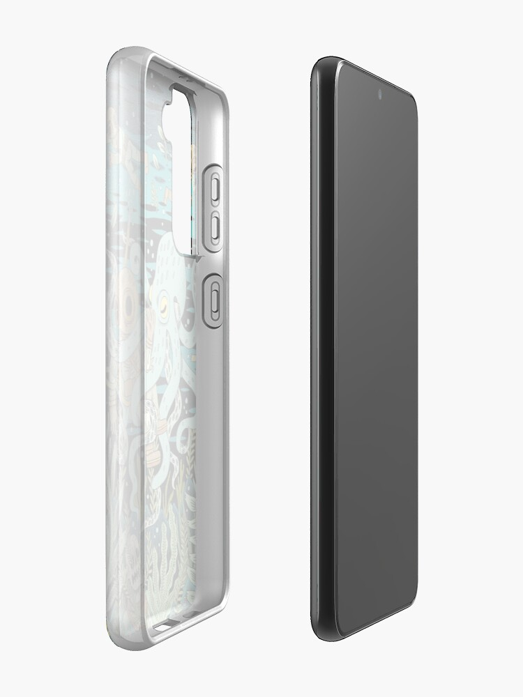 Alternate view of Diver Case & Skin for Samsung Galaxy