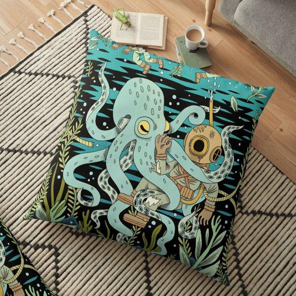 Diver Floor Pillow