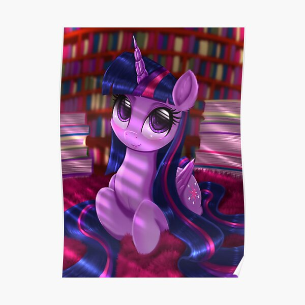 Twilight Sparkle - Long Hair Poster