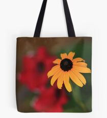 Yellow in contrast Tote Bag