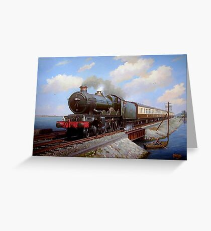 Castle at Starcross Greeting Card