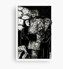 DER GOLEM Canvas Print