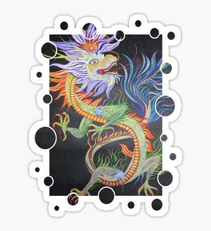 Beautiful Chinese Dragon Sticker