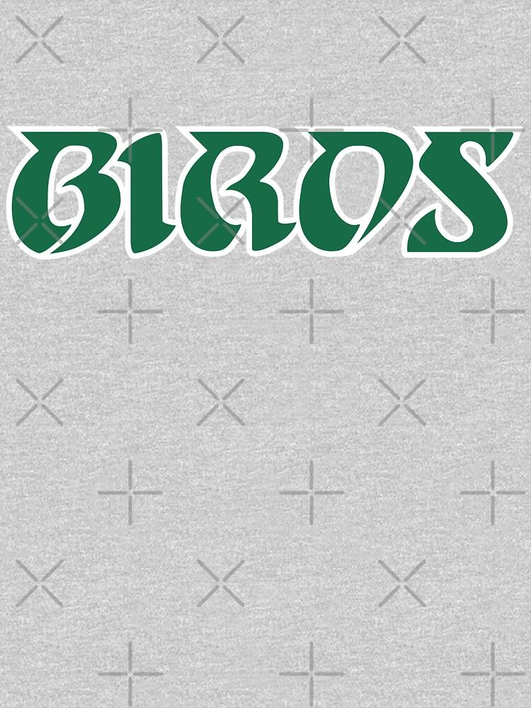 Birds, Retro - Black by SaturdayAC