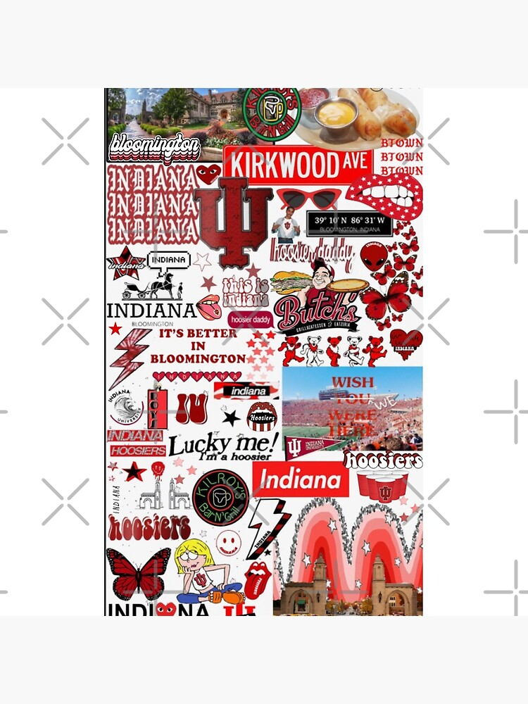 Indiana University Collage by dartydesigns