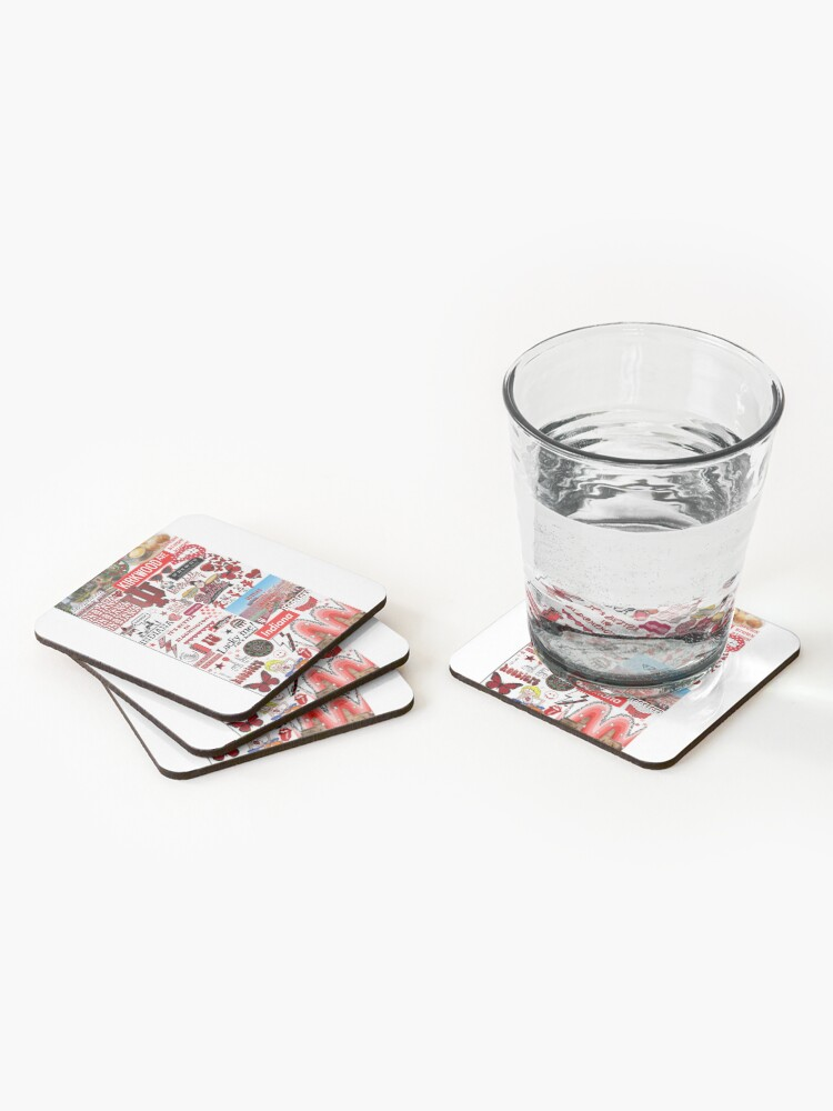 Alternate view of Indiana University Collage Coasters (Set of 4)
