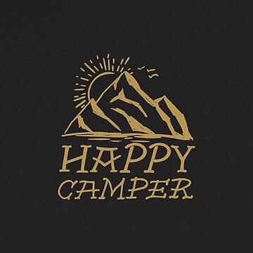 Happy Camper - Gold by fennirose