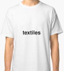 textiles Classic T-Shirt