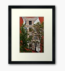 Scenes From Downtown Toronto - A Building Facade © Framed Print