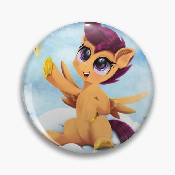 Scootaloo Gets A Magic Feather Pin