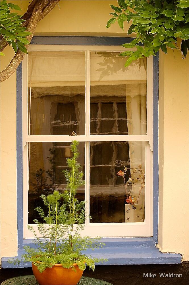 Topsham Window .. by Mike  Waldron