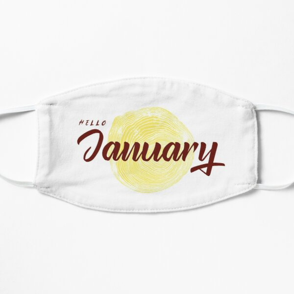 Hello January Mask