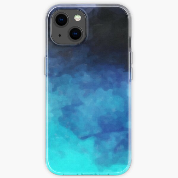 Abstract Watercolor Gradient iPhone Soft Case