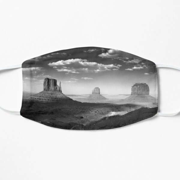 Monument Valley in Black & White  Mask
