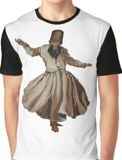 Whirling Dervish Conveys God's Spiritual Gift  Graphic T-Shirt