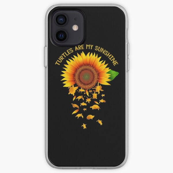 Turtles Are My Sunshine iPhone Soft Case