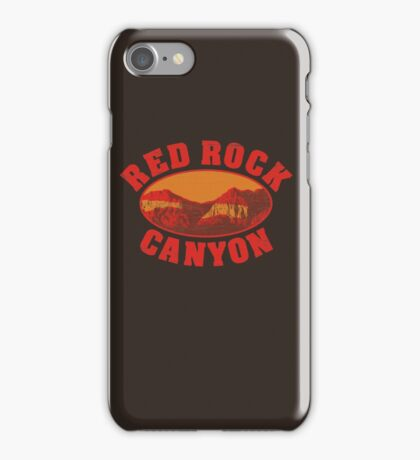 Red Rock Canyon iPhone Case/Skin