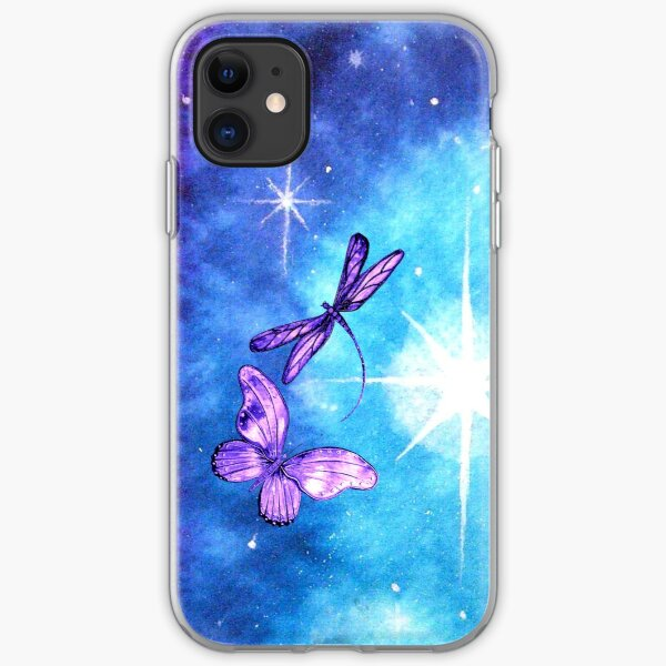 Purple Wings of Hope iPhone Soft Case