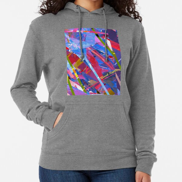 Fractured Glass Lightweight Hoodie