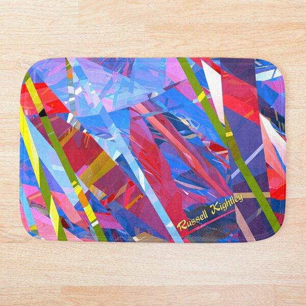 Fractured Glass Bath Mat
