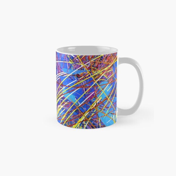 Abstract Fireworks Classic Mug