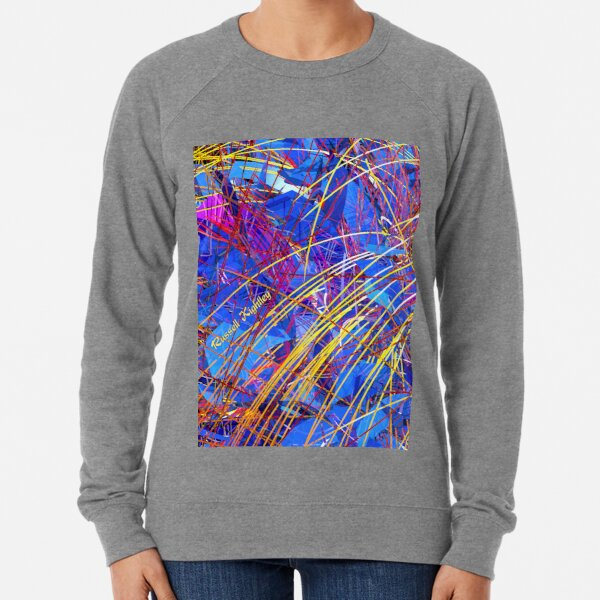 Abstract Fireworks Lightweight Sweatshirt