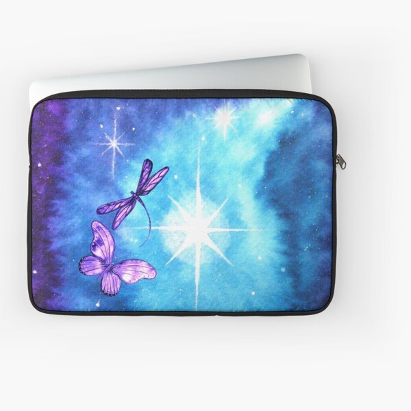 Purple Wings of Hope Laptop Sleeve