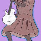 Sister Rosetta Tharpe Guitar Shero by dinosaursforall