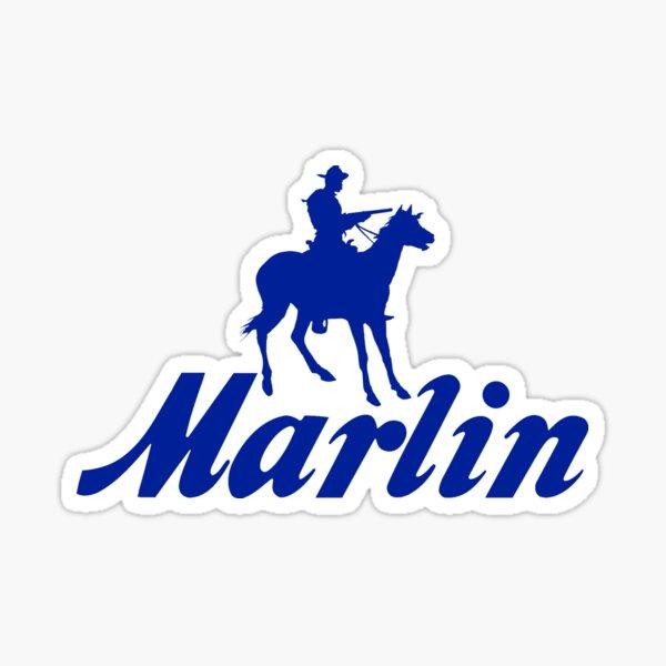Marlin Logo Sticker