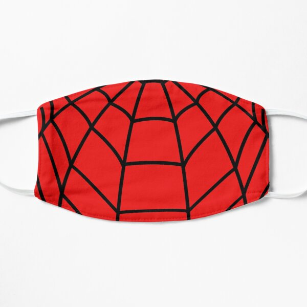 Spider-Hero Mascarilla plana