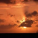 Sailing in Fire by globeboater