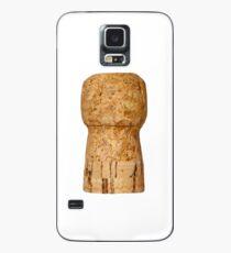 Champagne Cork on white Case/Skin for Samsung Galaxy