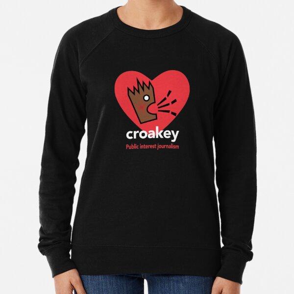Croakey - love brown PIJ Lightweight Sweatshirt